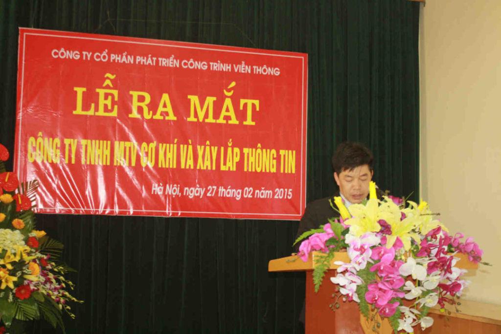 Mot So Hinh Anh Ve Le Ra Mat Cong Ty Tnhh Mtv Co Khi Va Xay Lap Thong Tin Mecin 6